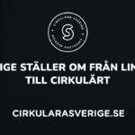Release för sajt som förklarar cirkulära affärsmodeller